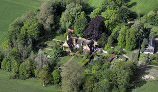 Aerial view of blo norton hall estate.full