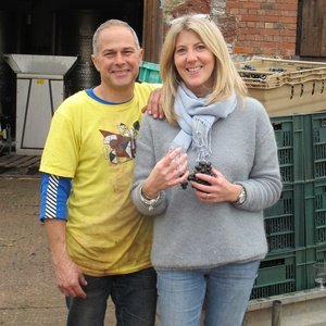 A picture of the property owner, Geoff and Anna Bowen