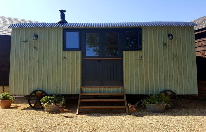 An image of 'Kingates Farm -  Shepherds Hut'