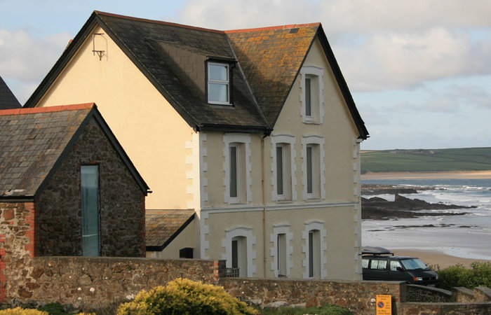 An image of 'Craig Var with Chauffeurs Cottage, New Polzeath'