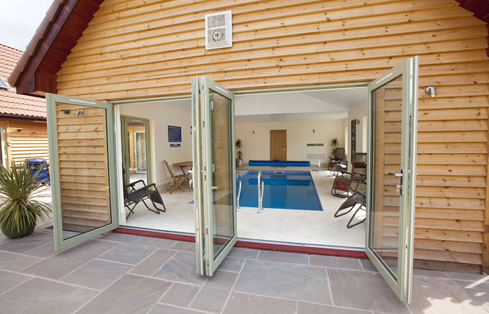 West country holiday homes sleeping up to 28 with pools sleeps 12 for Holiday homes in somerset with swimming pool
