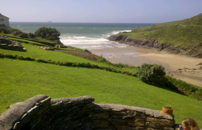 An image of 'Wavecrest West Side, New Polzeath'